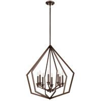 Quorum 699-8-86 Knox 8 Light 26 inch Oiled Bronze Pendant Ceiling Light