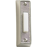 Lighting Accessory Satin Nickel Plastic Doorbell