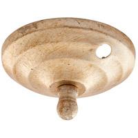 Quorum 7-1100-060 Signature Aged Silver Leaf Fan Light Kit Bowl Cap
