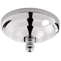 Quorum 7-1100-062 Signature Polished Nickel Bowl Kit Cap