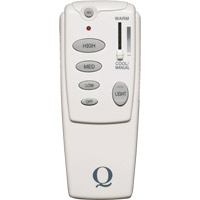 Quorum International Fan Accessory Fan Remote Control in White 7-1401-0