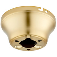 Quorum 7-1600-80 Signature Aged Brass Fan Hugger Adapter