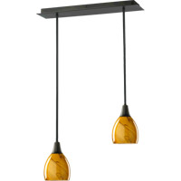 Quorum 7-2-95 Signature 2 Light 6 inch Old World Pendant Ceiling Light