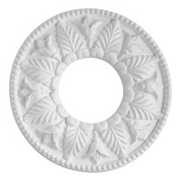 Quorum 7-2600-8 Signature Studio White Medallion
