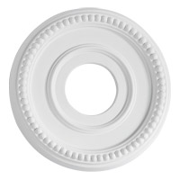 Quorum 7-2601-8 Signature Studio White Medallion