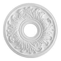 Quorum International Signature Medallion in Studio White 7-2603-8