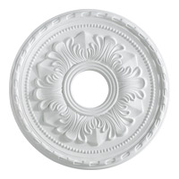 Quorum 7-2604-8 Signature Studio White Medallion