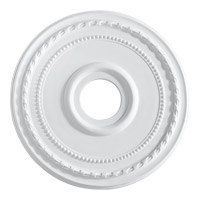 Quorum 7-2605-8 Signature Studio White Medallion