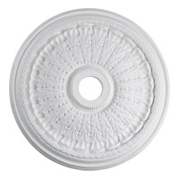 Quorum 7-2609-8 Signature Studio White Medallion