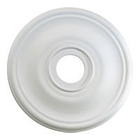 Quorum 7-2818-8 Signature Studio White Medallion
