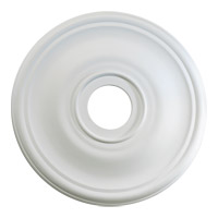 Quorum 7-2830-8 Signature Studio White Medallion
