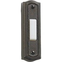 Quorum 7-301-44 Lighting Accessory Toasted Sienna Zinc Doorbell