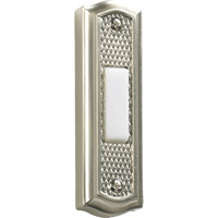 Lighting Accessory Satin Nickel Zinc Doorbell