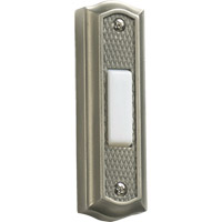 Quorum International Lighting Accessory Zinc Doorbell in Antique Silver 7-301-92