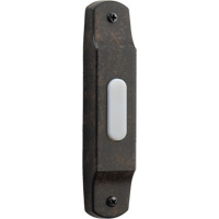 Quorum International Lighting Accessory Basic Narrow Doorbell in Toasted Sienna 7-302-44