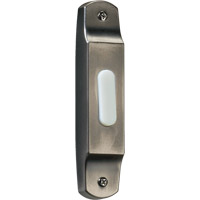 Quorum 7-302-92 Lighting Accessory Antique Silver Basic Narrow Doorbell