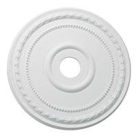 Quorum 7-3030-8 Signature Studio White Medallion