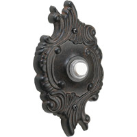 Quorum 7-309-44 Lighting Accessory Toasted Sienna Opulent Round Doorbell