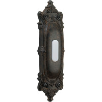 Quorum International Lighting Accessory Opulent Oval Doorbell in Toasted Sienna 7-310-44