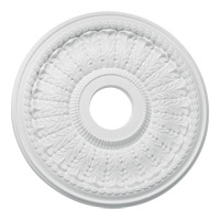 Quorum 7-3118-8 Signature Studio White Medallion
