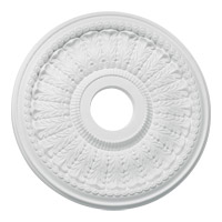 Quorum 7-3130-8 Signature Studio White Medallion