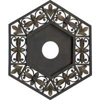 Quorum International Marcela Medallion in Oiled Bronze 7-6131-86