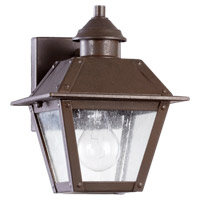 Quorum 7024-86 Emile 1 Light 10 inch Oiled Bronze Outdoor Wall Lantern