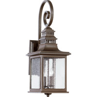 Quorum 7043-2-86 Magnolia 2 Light 25 inch Oiled Bronze Outdoor Wall Lantern