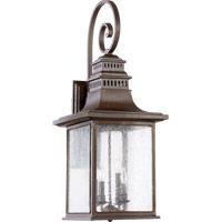 Quorum International Magnolia 4 Light Outdoor Wall Lantern in Oiled Bronze 7043-4-86