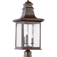 Magnolia 3 Light 25 inch Oiled Bronze Post Lantern