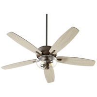 Quorum 7052-286 Breeze 52 inch Oiled Bronze with Oiled Bronze and Weathered Oak Blades Ceiling Fan Quorum Home