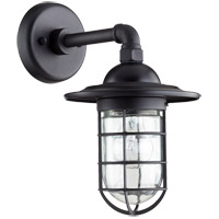 Bowery 1 Light 8 inch Noir Wall Sconce Wall Light