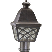 Quorum International Bradford 1 Light Post Lantern in Toasted Sienna 7104-44