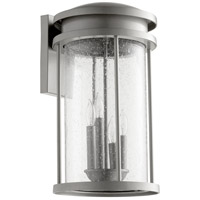 Hadley 4 Light 18 inch Graphite Outdoor Wall Lantern