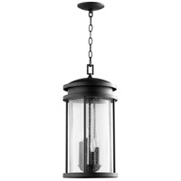 Hadley 4 Light 10 inch Noir Outdoor Pendant