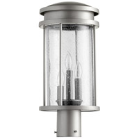 Hadley 3 Light 18 inch Graphite Outdoor Post Lantern