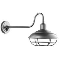 Quorum 7119-3 Tansley 1 Light 14 inch Graphite Outdoor Wall Lantern Large
