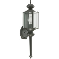Lantern 1 Light 25 inch Bronze Outdoor Wall Lantern