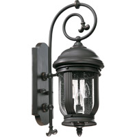 Quorum International Summit 4 Light Outdoor Wall Lantern in Old World 7181-4-95