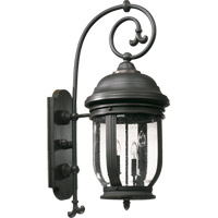 Summit 4 Light 35 inch Old World Outdoor Wall Lantern