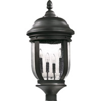 Quorum International Summit 4 Light Post Lantern in Old World 7186-4-95