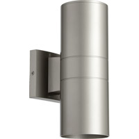 Signature 2 Light 12 inch Graphite Outdoor Wall Mount