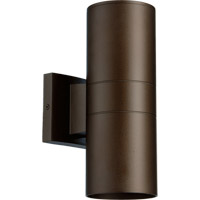 Quorum 720-2-86 Signature 2 Light 12 inch Oiled Bronze Outdoor Wall Mount