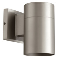 Quorum 720-3 Signature 1 Light 8 inch Graphite Outdoor Wall Sconce