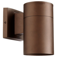 Signature 1 Light 8 inch Oiled Bronze Outdoor Wall Sconce
