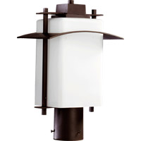 Kirkland 1 Light 16 inch Oiled Bronze Post Lantern