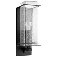 Quorum 7203-5-69 Balboa 1 Light 15 inch Noir Outdoor Wall Lantern