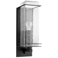 Quorum 7203-5-69 Balboa 1 Light 15 inch Noir Outdoor Wall Lantern