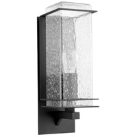 Quorum 7203-6-69 Balboa 1 Light 19 inch Noir Outdoor Wall Lantern