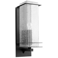 Quorum 7203-7-69 Balboa 1 Light 21 inch Noir Outdoor Wall Lantern